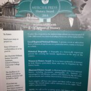 Mercier Press History Award 2014 in association with UCC School of History