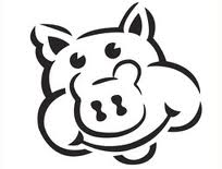 Flash Fiction: Pig Stencil