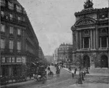 Parisienne scene