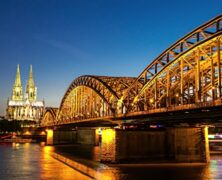 WILLKOMMEN IN KÖLN: A GLOBETROTTER'S DIARY by Cian Morey